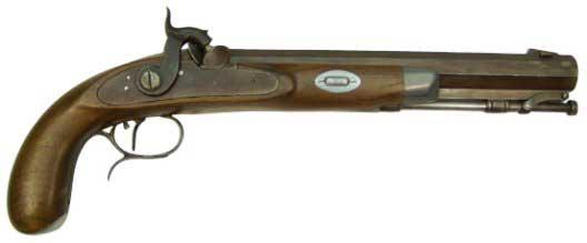 Hawken Pistol, Pecatonica River Long Rifle Supply